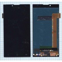 Модуль (матрица + тачскрин) Prestigio Grace Q5 PSP5506 (FPC-T50KH22S3M-1) черный [6357]