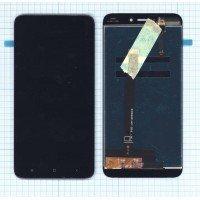 Модуль (матрица + тачскрин) Xiaomi Redmi 4X черный [6387]