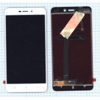 Модуль (матрица + тачскрин) Xiaomi Redmi 4A белый [6385]