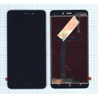 Модуль (матрица + тачскрин) для Xiaomi Redmi 4A черный [6510]