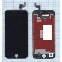 Модуль (матрица + тачскрин) в сборе для Apple iPhone 6S в сборе с тачскрином (LT) черный [6371]