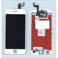 Модуль (матрица + тачскрин) в сборе для Apple iPhone 6S в сборе с тачскрином (LT) белый [6370]