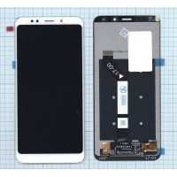Модуль (матрица + тачскрин) Xiaomi Redmi 5 Plus белый [6388]