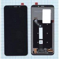 Модуль (матрица + тачскрин) Xiaomi Redmi 5 Plus черный [6389]