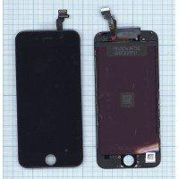 Модуль (матрица + тачскрин) в сборе для Apple iPhone 6 (Tianma) черный [6369]