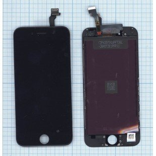 Модуль (матрица + тачскрин) в сборе для Apple iPhone 6 (Tianma) черный