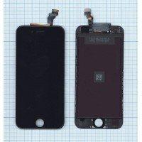 Модуль (матрица + тачскрин) в сборе для Apple iPhone 6 в сборе с тачскрином (Hancai) черный [6367]