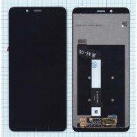 Модуль (матрица + тачскрин) для Xiaomi Redmi Note 5 Pro черный [6515]