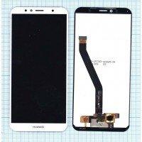 Модуль (матрица + тачскрин) Huawei Honor 7A Pro Honor 7C Y6 2018 Y6 Prime 2018 белый [6376]
