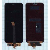 Модуль (матрица + тачскрин) Huawei Honor 10 черный [6355]
