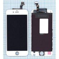 Модуль (матрица + тачскрин) в сборе для Apple iPhone 6 в сборе с тачскрином (Hancai) белый [6366]