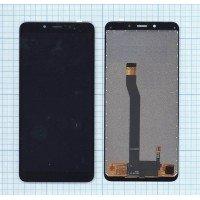 Модуль (матрица + тачскрин) для Xiaomi Redmi 6 / 6A черный [6511]