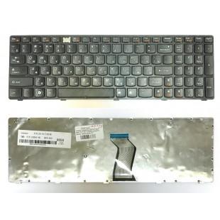 Клавиатура Lenovo IdeaPad B570, B590, V570, Z570, Z575 (RU) черная
