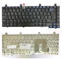 *Кнопка* Клавиатура для ноутбука HP Pavilion DV4000, DV4100, DV4200, DV4300, DV4320, Compaq Presario V4000 (RU) черная [00404-кнопка]