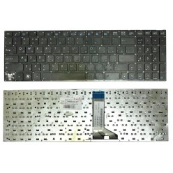 *Кнопка* Клавиатура для ноутбука Asus X551 X551CA X551MA X553 черная без рамки RU (плоский Enter) [10163-кнопка]