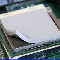 Термопрокладка силикон 25x25x1мм, 1.2-2.0Вт/(м*К) [5562]