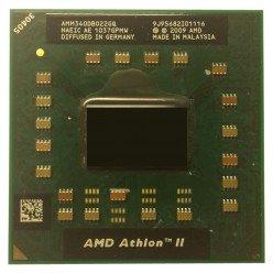 *Б/У* Процессор для ноутбука AMD Athlon II Dual-Core Mobile M340 2.2Ghz/1024/1600 (AMM340DB022GQ), Socket S1 (S1g3) [BUR0066-24], с разбора