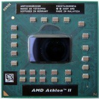 Процессор для ноутбука AMD Athlon II Dual-Core Mobile AMP320SGR22GM P320 Socket S1 (S1g4) (2.10 GHz) [BUR0112-18], с разбора