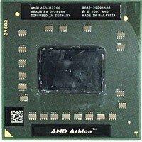 Процессор для ноутбука AMD Athlon 64 X2 QL-65 AMQL65DAM22GG Socket S1 (2.10 GHz) [AMQL65], с разбора