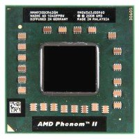 Процессор для ноутбука AMD Phenom II Quad-Core Mobile HMN930DCR42GM N930 Socket S1 (2.00 GHz) [BUR0055-18], с разбора