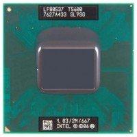 Процессор для ноутбука Intel Core 2 Duo T5600 SL9SG Socket M PPGA478 (2M Cache, 1.83 GHz) [SL9SG], с разбора