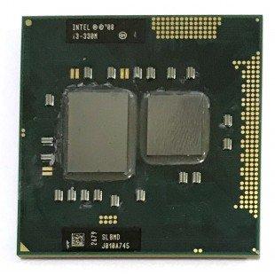 Процессор для ноутбука Intel Core i3 Mobile i3-330M SLBMD Socket G1 (rPGA988A) 2.133 GHz, с разбора