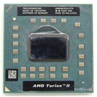 Процессор для ноутбука AMD Turion II Dual-Core Mobile TMP520SGR23GM P520 Socket S1 (2.30 GHz) [BUR0058-17], с разбора
