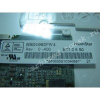 "Матрица 10"" HSD100IFW4 0-A00 (LED, 1024x600, 30pin справа снизу, матовая) [m10001-6]"