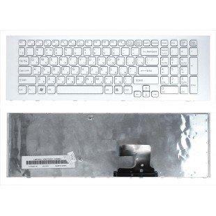 Клавиатура для ноутбука Sony VPC-EJ VPCEJ (RU) белая  [10139]