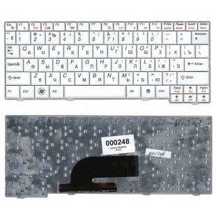 Клавиатура для ноутбука Lenovo S10-2 (RU) белая