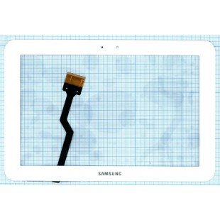 Сенсорное стекло (тачскрин) для планшета Samsung Galaxy Tab P7300 белый