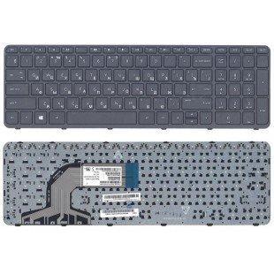 Клавиатура HP Pavilion 15-n, 15-e (RU) С РАМКОЙ, черная