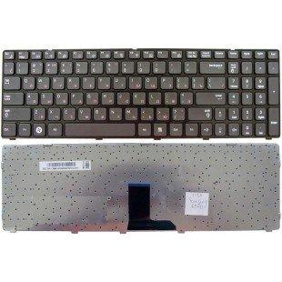 Клавиатура для ноутбука Samsung R580 R590 (RU) черная [10112]