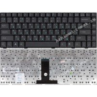 Клавиатура для ноутбука DNS 0133244, 0133240, 0123894 (RU) черная [10065-2]