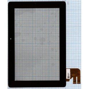 Сенсорное стекло (тачскрин) для планшета Asus TF300 G02 черный