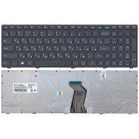 Клавиатура Lenovo G500 G505 G510 G700 G710 (RU) черная с рамкой, ver.1 [10117]