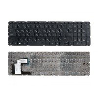 Клавиатура HP Pavilion SleekBook 15 (RU) черная, БЕЗ РАМКИ [10115]
