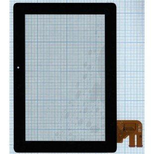 Сенсорное стекло (тачскрин) для планшета Asus TF300 5158N FPC-1  черный