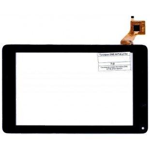 Сенсорное стекло (тачскрин) для планшета DNS AirTab p72w черный [T00804]