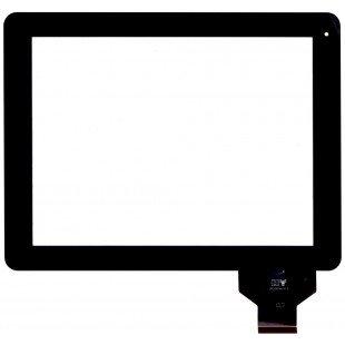 Сенсорное стекло (тачскрин) для планшета DNS AirTab M975w черный [T00120]