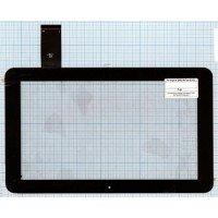 Сенсорное стекло (тачскрин) для планшета DNS AirTab E102 черный [T00126]