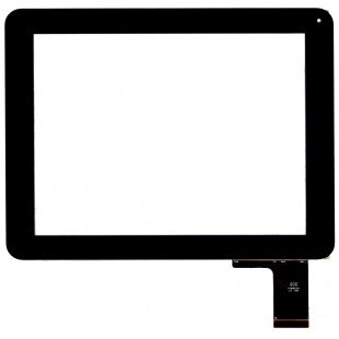 Сенсорное стекло (тачскрин) для планшета Digma iDs D10 3G  черный