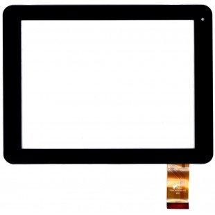 Сенсорное стекло (тачскрин) для планшета PINGBO PB80A8898-R1 R2 черный