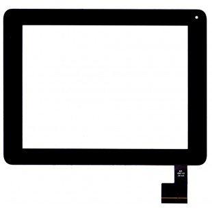 Сенсорное стекло (тачскрин) для планшета Digma iDs D8 3G  черный [T00118]