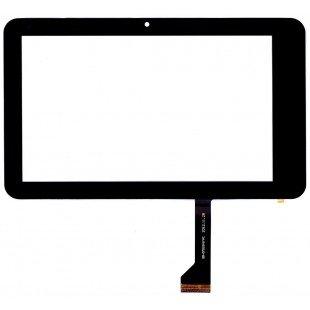 Сенсорное стекло (тачскрин) для планшета Digma iDj 7 3G  черный