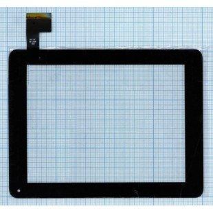 Сенсорное стекло (тачскрин) для планшета QSD 8007-03  черный