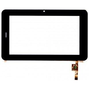 Сенсорное стекло (тачскрин) для планшета Prestigio Prime 7170B 3G pmp 7170  черный [T00103]
