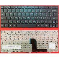 Клавиатура для ноутбука DNS 127618 129680 (RU) черная [10125]