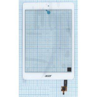 Сенсорное стекло (тачскрин) для планшета Acer Iconia A1-830 белый