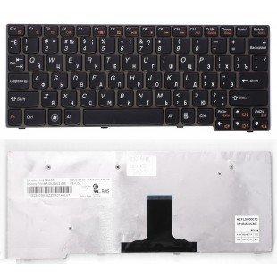 Клавиатура для ноутбука Lenovo IdeaPad S10-3 S10-3s S100 S110 (RU) черная [10129]